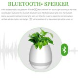 New Plastic Flower Pot Bluetooth Speaker Smart Flower Pot Mini Speaker Music Flower Pot for Office and Home