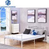 Cheap Modern Bedroom Hotel Furniture King Queen Single Double Children Metal Iron Bed