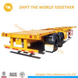 Cheap 3 Axle 40FT Stock Trailer Container Flatbed Truck Trailer