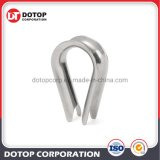 """M6 Galvanized Stainless Steel 1/4"""" Diameter Wire Rope Cable 6mm Thimbles Rigging"""