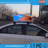 P5 Taxi Top Outdoor Full Color LED Video Sign for Advertising