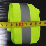 High Visibility Reflective Polyester Weaved Webbing Ribbon Tape