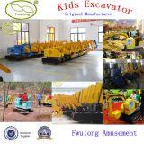 Amusement Park Cheap Mini Excavator for Children