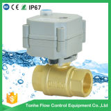 2016 Dn20 NSF61 High Quality Cw617n Brass Motorized Ball Valve