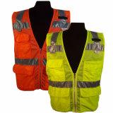 High Vis Reflective Safety Motorcycle Vest & Vest