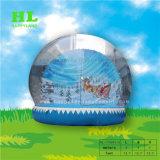 Big Inflatable Human Snow Globe, Snow Ball Souvenir Tent