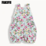 Factory Customised Infant Wear Baby Cotton Flora Jumpsuit Kids Romper Fashion Garment
