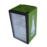 Countertop Single Glass Door Commercial Cooling Display Refrigerator Showcase