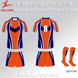 Healong China Wholesale Sportswear College League Men's Rugby Shirt for Sale