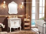 Antique Elegant Wholesale Wooden Bathroom Vanity Cabinet Tc39115-8