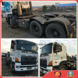 ABS-Dana-Axle 380HP/P11c-Engine 30ton/2008/6*4-LHD-Drive Good-Condition-Chassis Hino 700 Used Trailer Tractor Truck