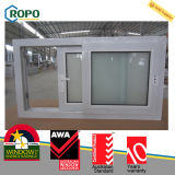 UPVC Frame Glass Sliding Reception Window