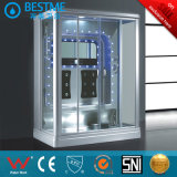 2 Person Enclosed Massage Whirlpool Steam Shower Room, Steam Shower with TV (BZ-802A)