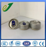 202 (52mm) Beverage Easy Open Aluminium Can Lids with Qr Code