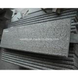 Cheap Natural Stair Treads Grey Granite Step for Floor