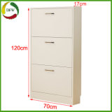 Cupboard 3 Compartments Unit Range Shoe Cabinet Storage Rack