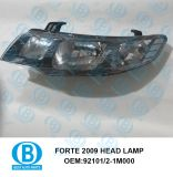Forte 2009 Head Lamp Assy Manufacturer for Auto Parts