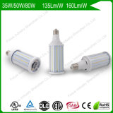 80W 6kv Surge Protection 160lm/W 200W/250W HID Replacement High Power LED Corn Light Bulbs for Post Tops/Parking Lot