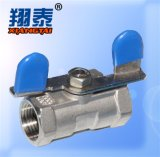 Butterfly Handle Ball Valve SS304