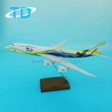 Passenger Plane Model B747-8 Resin Toy Airplane
