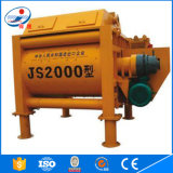 Js Type Js2000 Electric Available Factory Supply Concrete Mixer
