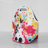Promotional Cooler Neoprene Lunch Bag with Colorful Printing