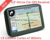 "Unique Factory Sale 5.0"" Wince GPS Navigation with Bluetooth AV-in ISDB-T Tmc USB Host Function"