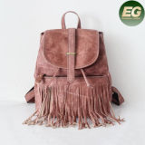 Retro Top Workmanship Backpack Women Travelling Bags Tassel Emg4879
