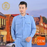 OEM Blue Painters Workwear Uniform Summer Cotton Workwear Uniform