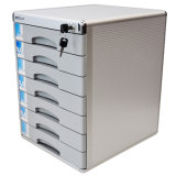 Metal 7 Drawers Lockable Office Standard File Storage Cabinet