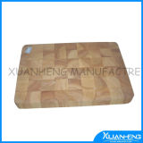 Wooden Cutting Board with Round Design