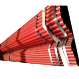 Schedule 10 / Schedule 40 Sprinkler Ral 3000 Red Painted Fire Fighting ERW Steel Pipe