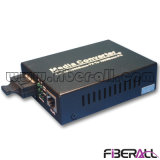 Gigabit Fiber Ethernet Media Converter with Duplex Sc Interface 40km
