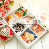 Cmyk Printing Food Packaging Box Customized Paper Gift Box with Compartments