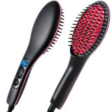 OEM Economy Hair Straightener Brush PTC Heating Auto-off