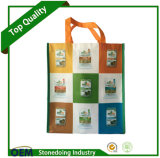 Custom Logo Printed Promotion Foldable Reusable Laminated Non Woven Bag