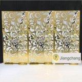 High Quality Acrylic Vintage Wedding Gold Backdrop Decoration