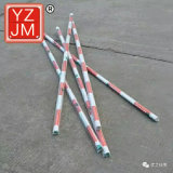 Sliding Open Closed Type Danger Red White PVC Warning Bar