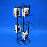 Retail Shops Table Top Custom Iron Wire Products Hanging Display Rack (PHY1014)