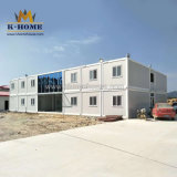Prefab Modular Portable Site Office Camp Shipping Flat Pack Containers for Philippines