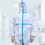 Type5/6 Disposable Polypropylene Nonwoven High Risk Safety Workwear Chemical Industrial Protective Suits