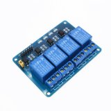 4 Channel Relay Module 4-Channel Relay Control Board with Optocoupler. Relay Output 4 Way Relay Module