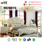 European Antique Design Wood Bedroom Furniture (HC9013)