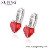 Fashion Elegant Pearl Heart-Shaped Gold-Plated Jewelry Earring Eardrop with CZ93824