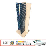 MDF Eruopean Style Slatwall Display Rack for Show, Shop, Store. Retail Display - W042