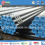 ERW Welded Carbon Structure Black Transportation Steel Pipe