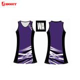 Aibort Sublimation Customized Printing Cheap Women Netball Dress (T-NT-03)