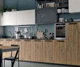 Popular Color Wholesale Modern Wooden Kitchen Cabinet (Kit-07)