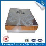 Paper Shoe Packaging Box with Silver Surface