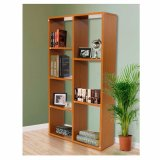 Home Furniture Casual Home Decoration Wood Cube Bookshelf Wholesale